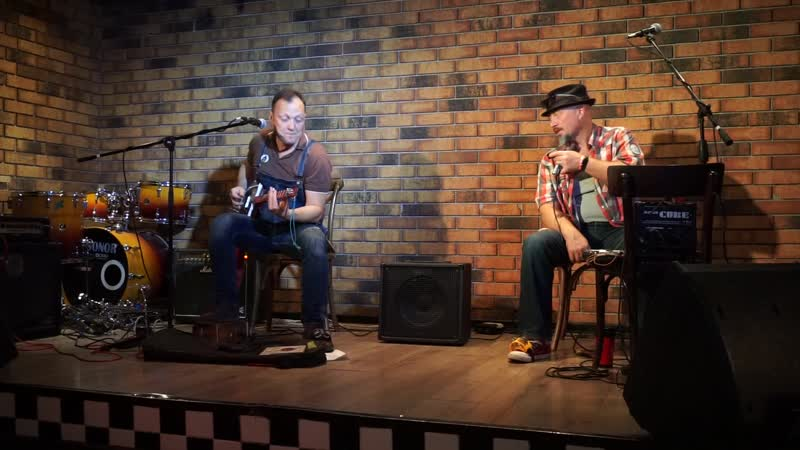 Собаки Качалова – Ой- Ёй - Москва, Live 2019 Cigar Box Guitar