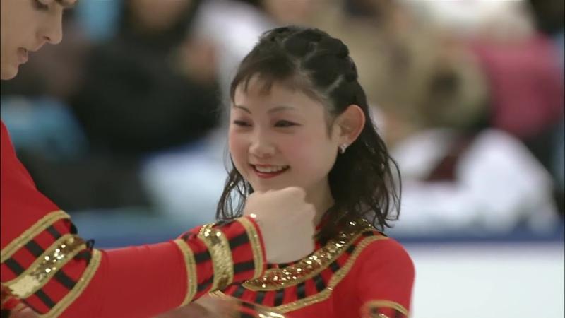 HD 川口悠子 マルクンツォフ 2002 Worlds SP Yuko Kawaguchi and Alexander Markuntsov Aida