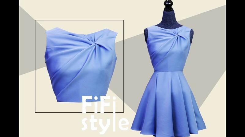 FiFi Style Thiết kế áo xoắn 3 lớp không đường may bằng phương pháp Draping 3D