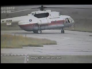 Происшествие с вертолетом Ми-8МТ (2012)