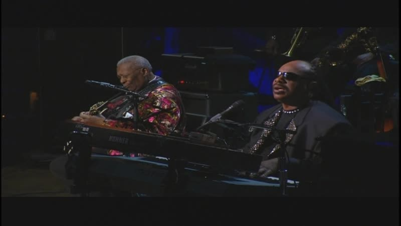 Stevie Wonder with B B King The Thrill Is Gone
