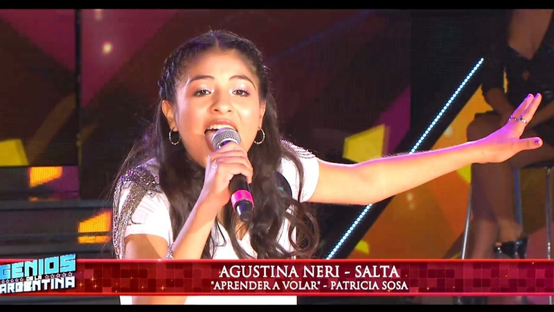 Agustina Neri de Salta la rompió cantando Aprender a volar de Patricia Sosa