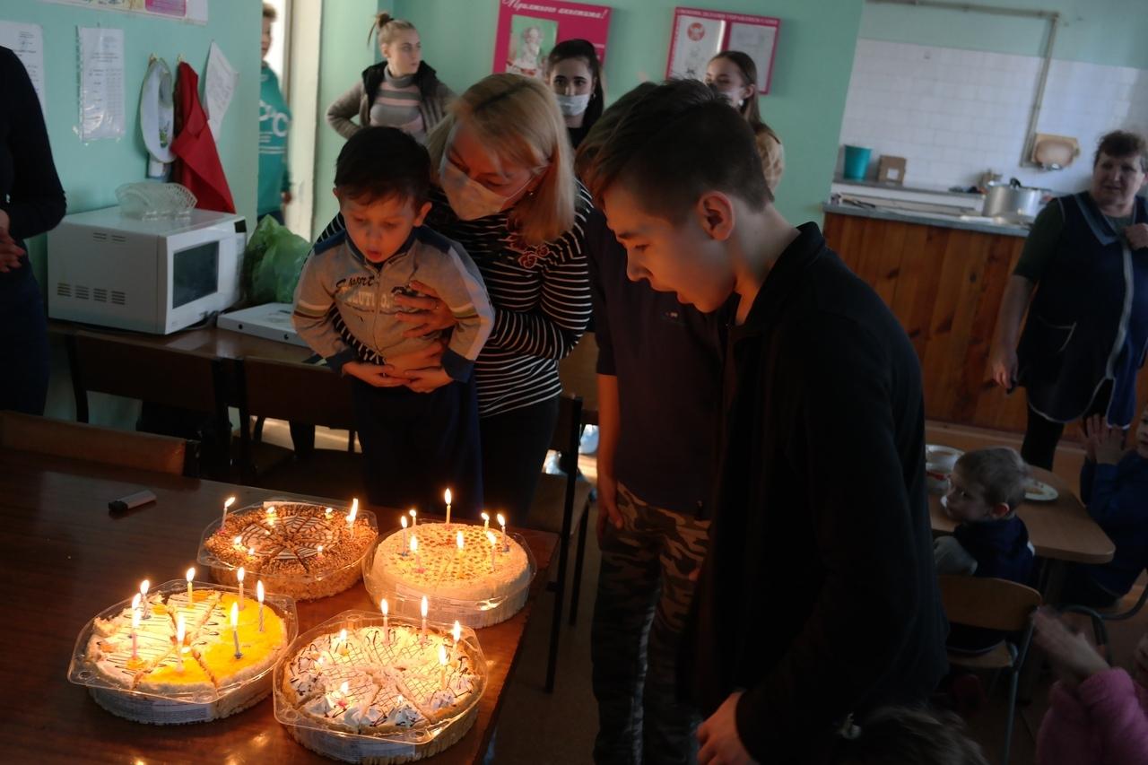 День рождения в Детском социальном приюте
