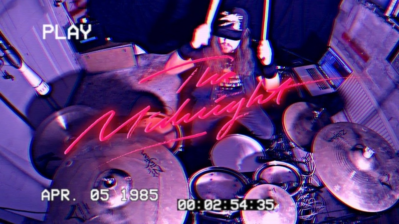 The Midnight Sunset Erik Modin drum cover