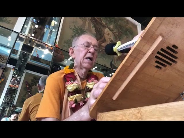 BVV Narasimha Swami, SB 10.60.41, Hong Kong, 28.08.2019