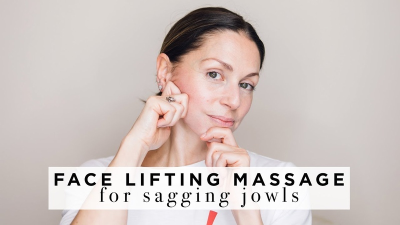 FACE LIFTING MASSAGE for Jowls lower face ABIGAIL