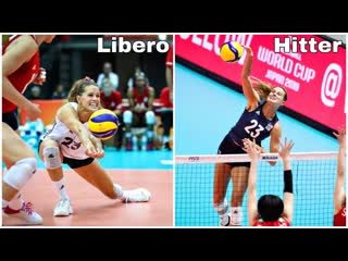 Libero and outside hitter kelsey robinson best volleyball actions (hd)