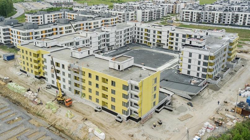 Отчет о ходе строительства ЖК «Ожогино» май 2020, изображение №6