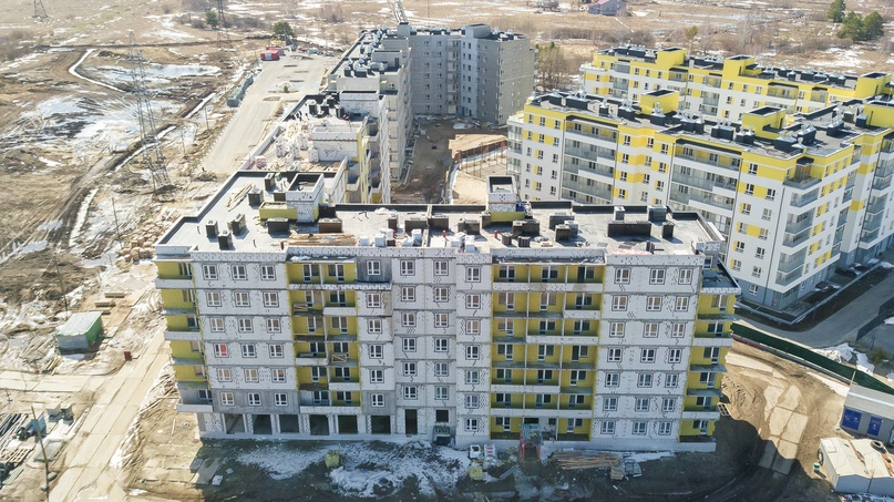 Отчет о ходе строительства ЖК «Апрель» май 2020, изображение №18