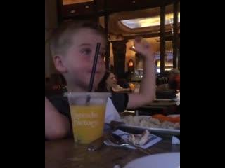 Сергей Лазарев показал забавное видео с сыном