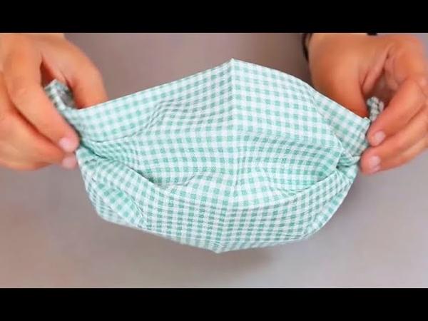 Маска для лица за 1 минуту без шитья