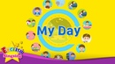 Kids vocabulary My Day Daily Routine Learn English for kids English educational video