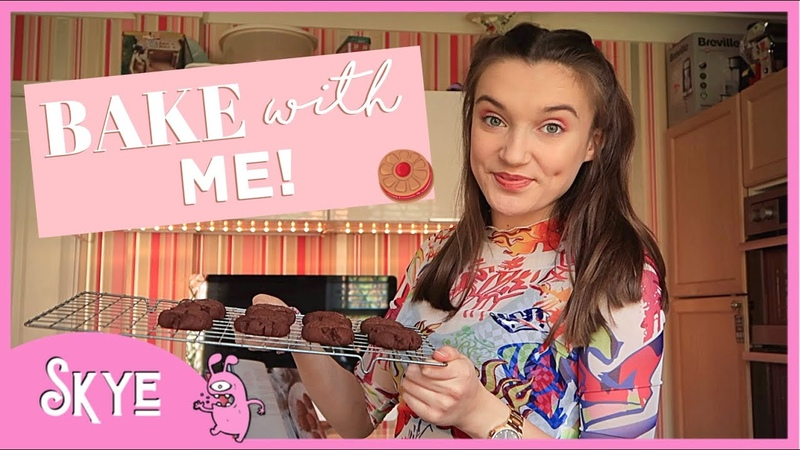BAKE WITH ME Q A How to make Chocolate Fork Biscuits Skye