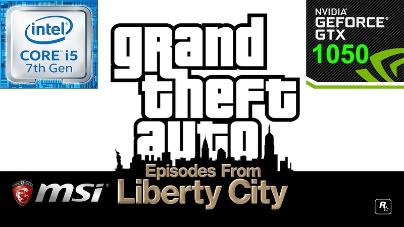 Grand Theft Auto EFLC MSI GL62M 7RD i5 7300HQ GTX 1050 All Settings Tested
