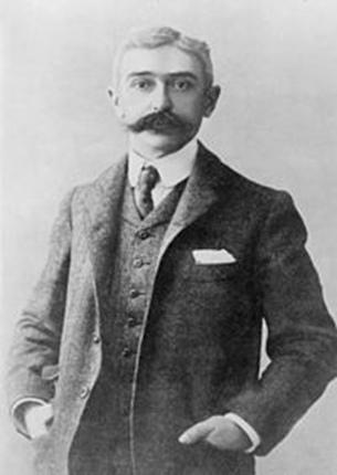 Барон Пьер де Кубертен