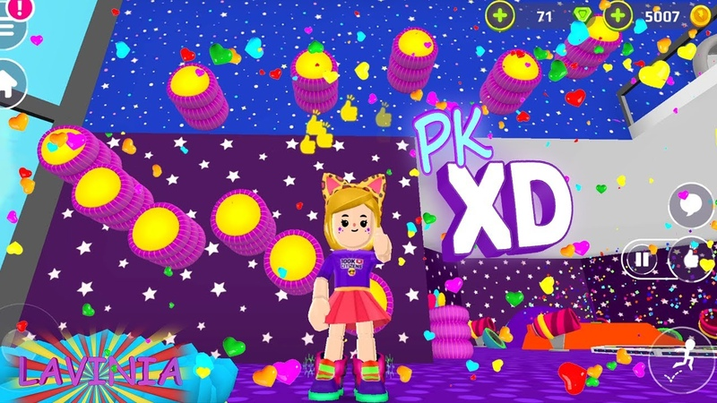 The coolest parkour pk xd only channel Lavinia Play Cartoon gameplay pkxd for children
