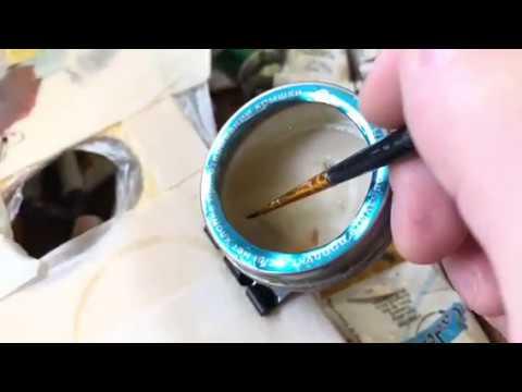Самодельная маслёнка художника своими руками