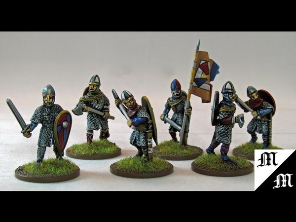 How to Paint Black Tree Designs 28mm Armoured Normans Pt.1
