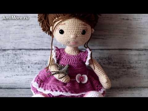 Амигуруми: схема Куколка Маруся. Игрушки вязаные крючком Free crochet patterns.