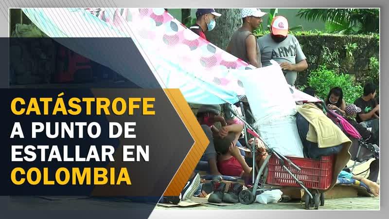 Catástrofe a punto de estallar en Colombia
