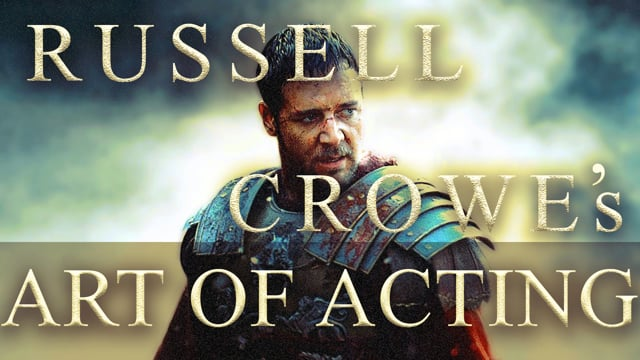 Russell Crowe's Art of Acting Supercut 20 Movies