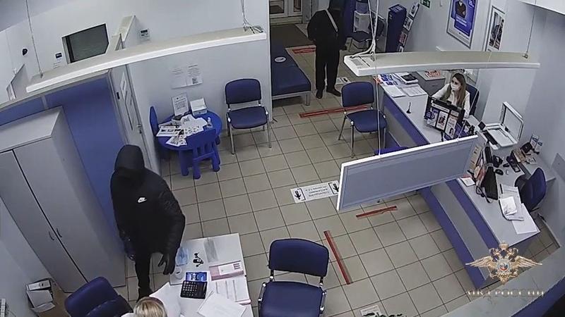 Ограбление банка в Вологде и арест преступников