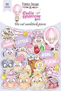 Набор высечек коллекция Cutie sparrow girl 56 шт 170,00 р. В наличии 1 шт.