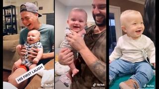 Babies Laugh is the best medicine | TikTok Baby