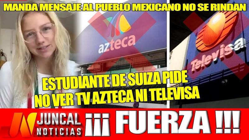 ¡No Lo Creo Estudiantes De Suiza Piden En Las Benditas Redes Sociales No Ver TV Azteca ¡ES UN ASCO