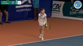 GRANT (USA) vs KLUGMAN (GBR) - Open Super 12 Auray Tennis 2020 - Girls Final