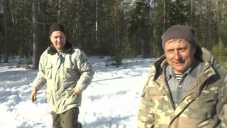 Покатушки вездеходов по весеннему снегу 04 04 21г часть-2