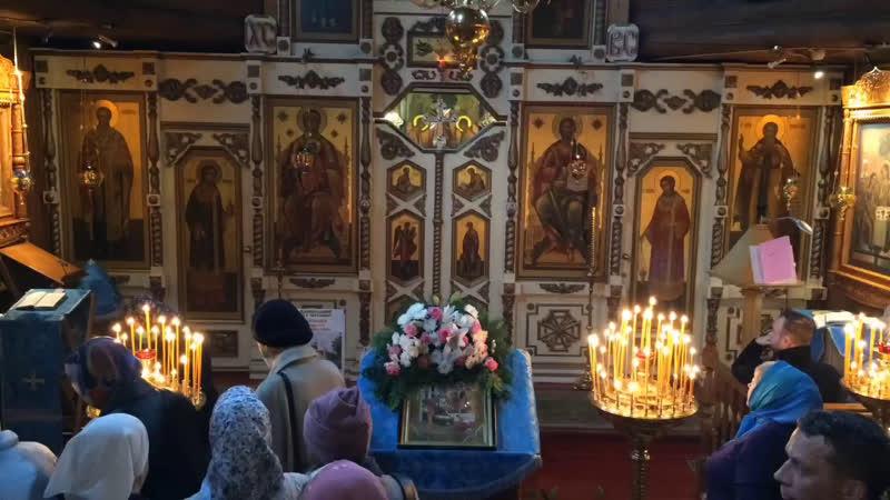 Трансляция Божественной Литургии в праздник Рождения Пресвятой Богородицы
