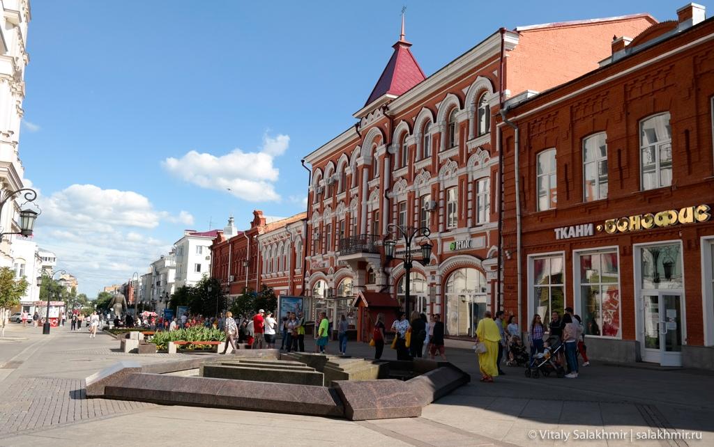Здания на Самарском арбате, Ленинградская улица 2020