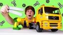 Машинка эвакуатор сломалась. Видео про машинки игрушки. Игры для мальчиков онлайн
