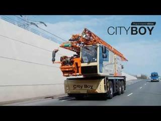 Spierings SK487-AT3 City Boy || Plug-in hybrid eDrive