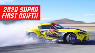 2020 Supra Drift Build - Body Kit Install and First Drift