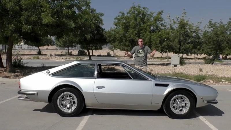 Lamborghini Jarama обзор тест драйв