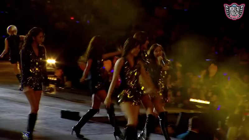 SNSD Girls' Generation Way To Go SMTown Live in Madison Square Garden