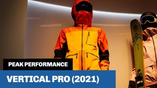 Peak Performance Vertical Pro (2021) - Is this the best ski jacket in the world?