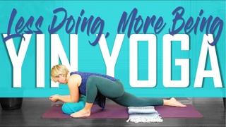 70 min Full Body Yin Yoga | Less Doing, More Being