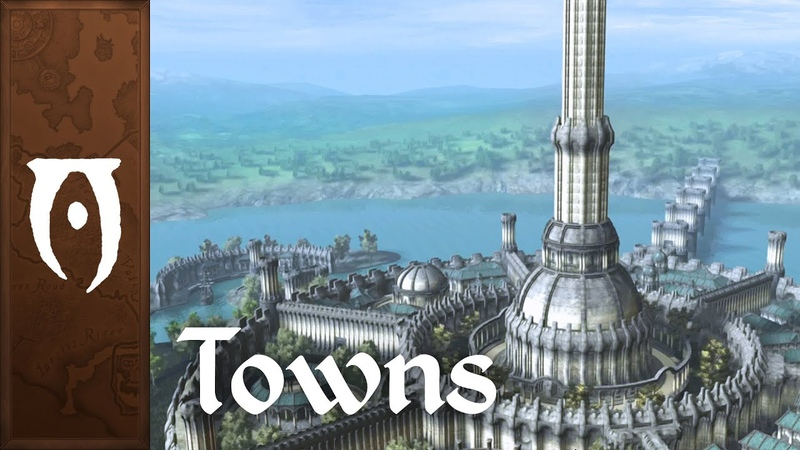 Oblivion Music Ambience Towns