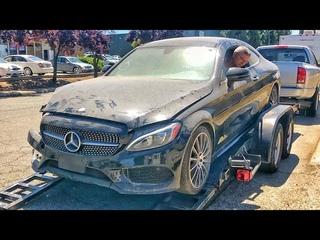 Купили Битый Mercedes C-Coupe С Аукциона / Что с Ней Не Так?