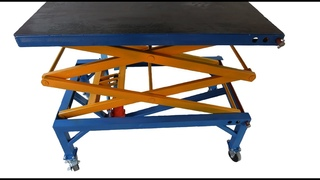 Make A Scissor Lift Table | Homemade Lift Welding Table