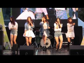 141017 4Minute - Whatcha Doin' Today  @ Pangyo Techono Valley