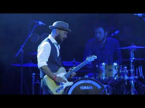 Henrik Freischlader Trio Got It Made Live at Ribs Blues Festival 2016