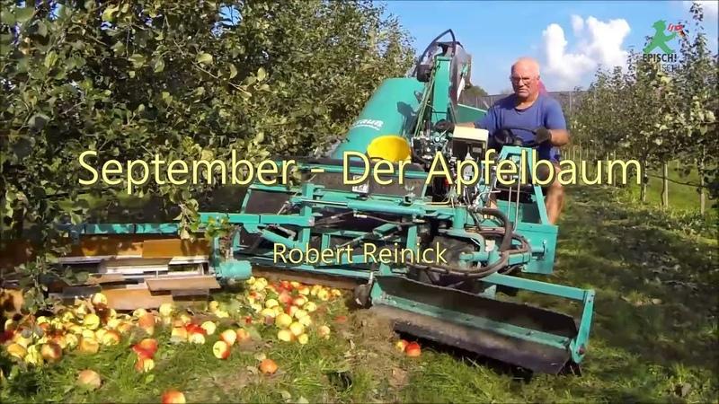September Der Apfelbaum Robert Reinick
