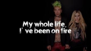 MOD SUN feat. Avril Lavigne - Flames (Acoustic)(Lyrics)