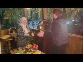 Сегодня день рождения у  моей дорогой СНОХИ Хафсы Кадыровой.