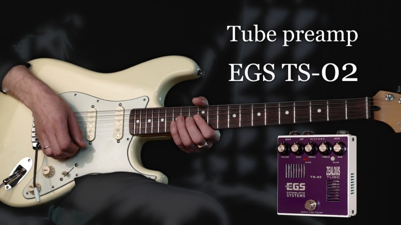 EGS TS-02 BLUES ROCK. Гитара - Александр Ростовцев.