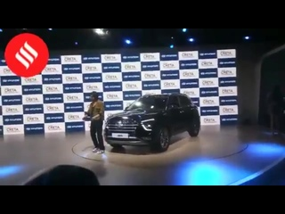 @iamsrk unveils the all new HyundaiCreta at AutoExpo2020 shahrukhkhan SRK - - See more celebrity videos at